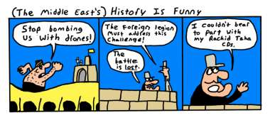 [The Middle East's] History Is Funny