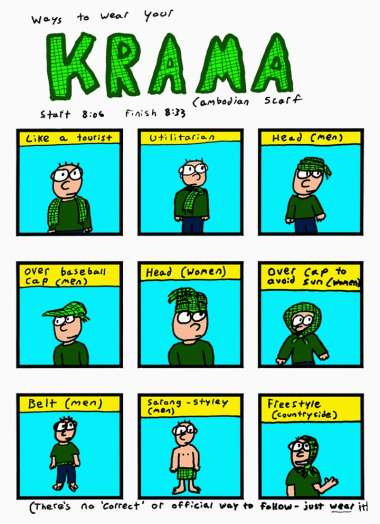 No Kramas were harmed in the making of this comic.