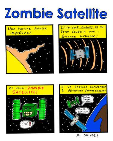 No satellites were harmed in the making of this comic