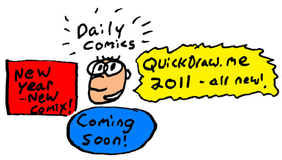New Year Comix