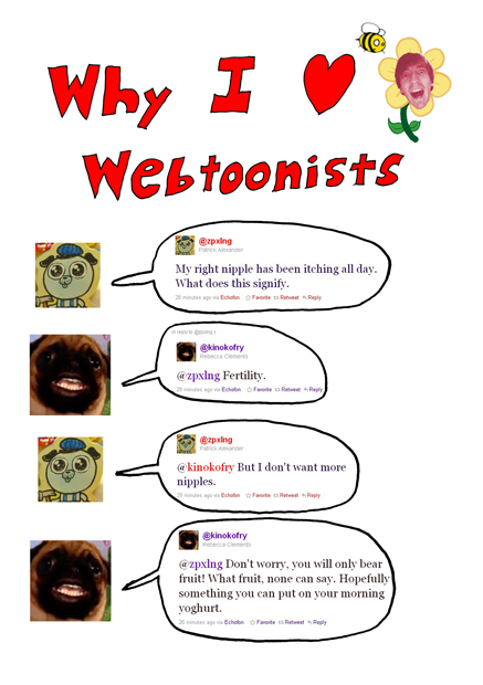 Why I [Heart] Webtoonists