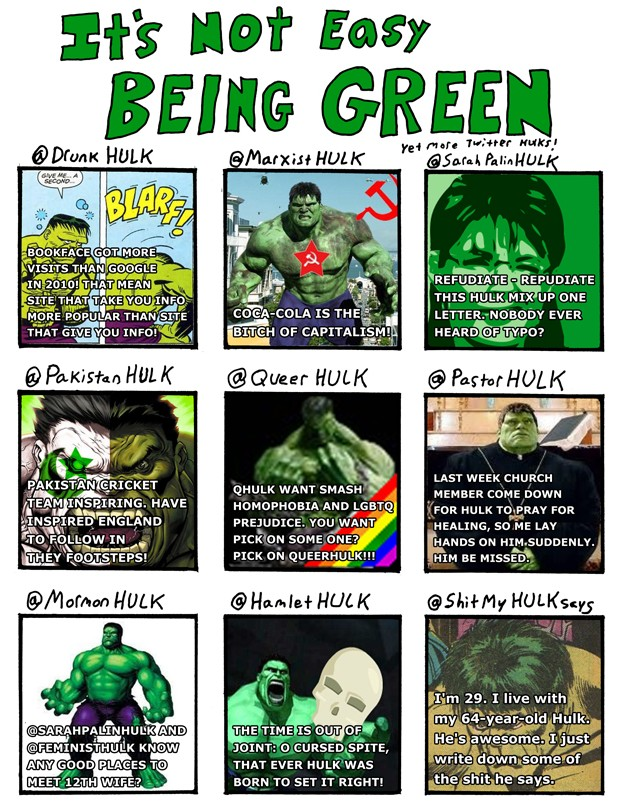 It's Not Easy Being Green – Part 2