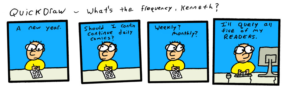 What frequency do *you* frequent?