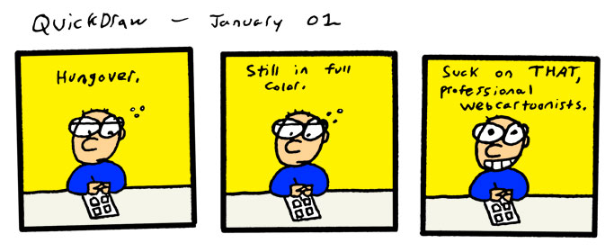 Another year, another comic.